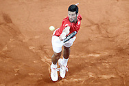 Novak Djokovic during the Madrid Open at Manzanares Park Tennis Centre, Madrid<br /> Picture by EXPA Pictures/Focus Images Ltd 07814482222<br /> 07/05/2016<br /> ***UK & IRELAND ONLY***<br /> EXPA-ESP-160507-0001.jpg