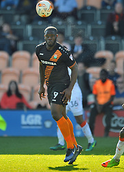 JOHN AKINDE BARNET Barnet v Luton Town, EFL Sky Bet League 2 The Hive, Saturday 8th April 2017 Score 0-1<br /> Photo:Mike Capps