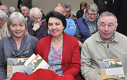 Mayo County Council's Heritage office recently held a seminar on the Care &amp; Conservation of Historic Graveyards at the Harlequin Hotel Castlebar pictured at the seminar were Maura Murphy Ballintubber, Norita Clesham Balla and Tommy Kearns from Balla.<br /> Pic Conor McKeown