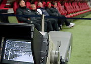 Camera TV shows polish substitute bench before the 2014 World Cup Qualifying Group H soccer match between Poland and San Marino at National Stadium in Warsaw on March 26, 2013...Poland, Warsaw, March 26, 2013...Picture also available in RAW (NEF) or TIFF format on special request...For editorial use only. Any commercial or promotional use requires permission...Photo by © Adam Nurkiewicz / Mediasport