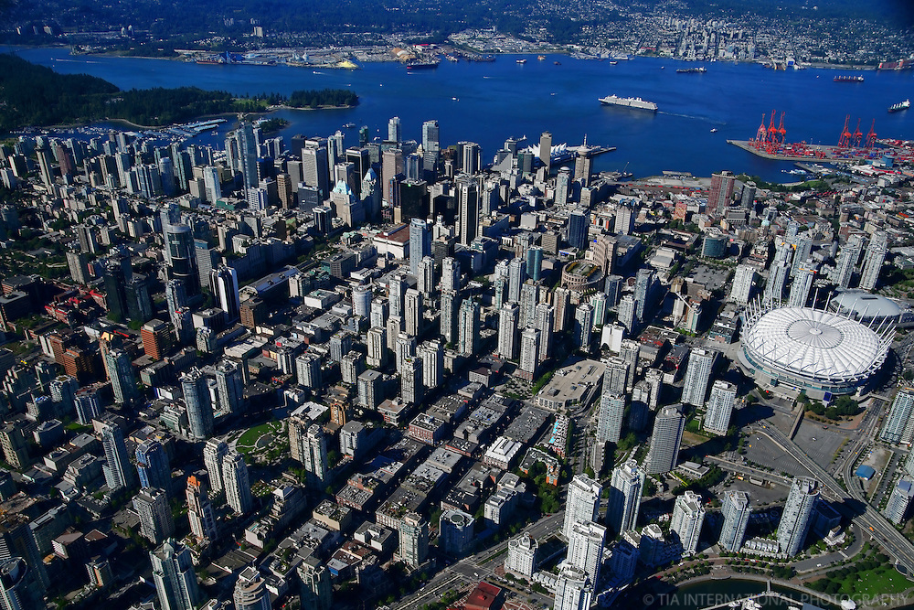 City of Vancouver featuring new BC Place Stadium (#1)