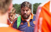 ALMERE - Max Caldas na de interland tussen de mannen van Nederland en Ierland (3-2) ter voorbereiding van het EK dat eind augustus in Londen wordt gehouden. COPYRIGHT KOEN SUYK