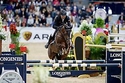 Bucci Piergiorgio, ITA, Casallo Z<br /> Gothenburg Horse Show FEI World Cups 2017<br /> © Hippo Foto - Stefan Lafrentz<br /> 26/02/17