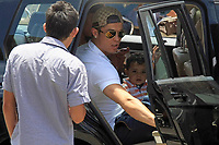 20110524: FUNCHAL, MADEIRA ISLAND, PORTUGAL - Portuguese football star Cristiano Ronaldo hangs out with his family and girlfriend Irina Shayk in Funchal, Madeira. In picture: Cristiano Ronaldo with his son Cristiano Ronaldo Jr. PHOTO: CITYFILES