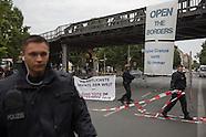 Open border street blockade, 02.08.16