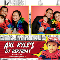 Axl's 1st Birthday