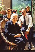 Italian family in Naples
