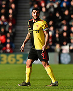 Troy Deeney (9) of Watford during the Premier League match between Bournemouth and Watford at the Vitality Stadium, Bournemouth, England on 12 January 2020.