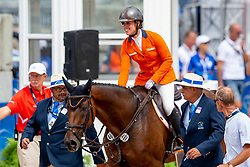Blom Merel, NED, Rumour Has It<br /> World Equestrian Games - Tryon 2018<br /> © Hippo Foto - Sharon Vandeput<br /> 18/09/2018