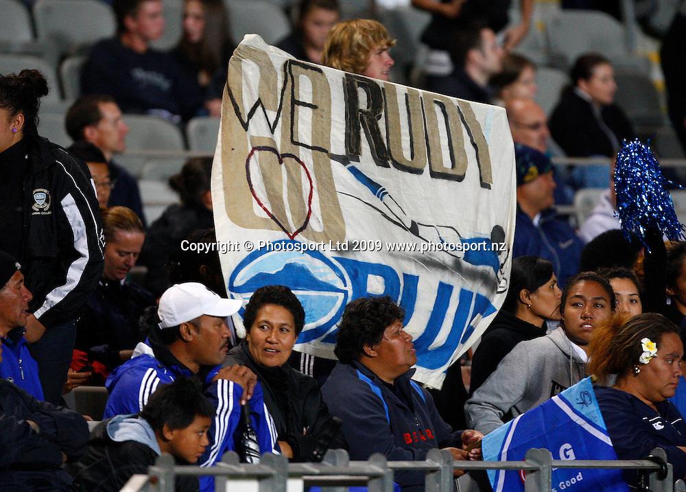 Super 14 rugby union match, Auckland Blues v Lions, Eden Park, Auckland. 10 April 2009. Photo: Simon Watts/PHOTOSPORT