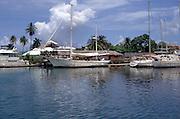 Luxury sailing yachts, Port Antonio, Jamaica