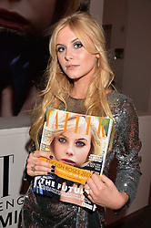 Lady Lola Crichton-Stuart holding Tatler where she is the cover photovat the Tatler's English Roses 2017 party in association with Michael Kors held at the Saatchi Gallery, London England. 29 June 2017.<br /> Photo by Dominic O'Neill/SilverHub 0203 174 1069 sales@silverhubmedia.com