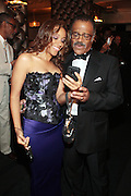 22 May 2011- New York, NY -  (L) Actor Ted Lange and Guest at the Woody King Jr.'s New Federal Theatre 40th Reunion Gala Benefit held at   the Edison Ballroom on May 22, 2011 in New York City. Photo Credit: Terrence Jennings