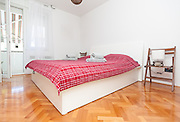 Clean and modern mediterannean bedroon in house