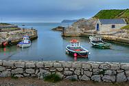 harbor at Ballintoy