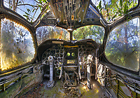 The Abandoned Airplane Graveyard formerly located in St. Augustine, FL.