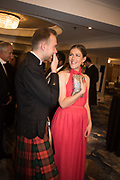 MERLIN STEWART; GRACE BLACK, The 170th Royal Caledonian Ball 2018. In aid of various Scottish charities. Grosvenor House Hotel. 4 May 2018