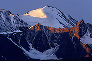 St. Elias Mountains with glacier<br /> Kluane National Park<br /> Yukon<br /> Canada