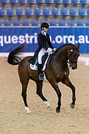 SYDNEY, AUSTRALIA - MAY 03: Mary Warren performs at the Sydney Concours de Dressage International on May 03, 2019 at The Sydney International Equestrian Centre in NSW, Australia.  (Photo by Wendell Teodoro/Speed Media)