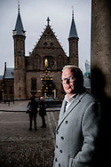 DEN HAAG - lijsttrekker van de partij Voor Nederland  portret van Jan Roos lijstrekker van VNL is een Nederlands politicus, columnist en journalist. COPYRIGHT ROBIN UTRECHT