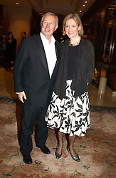 SIR TERENCE & LADY CONRAN at the Conde Nast Traveller magazine Tsunami Appeal Dinner at the Four Seasons Hotel, Hamilton Place, London W1 on 2nd March 2005.<br />