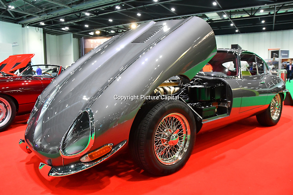 Press day: London Motor & Tech Show‎ opening day on 16 May 2019, at Excel London, UK.