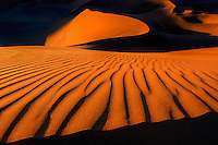 Sand dunes in Namib-Naukluft National Park, Namibia.