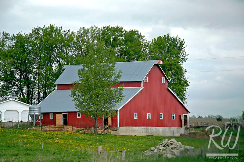 Red Barn, Decorah, Iowa