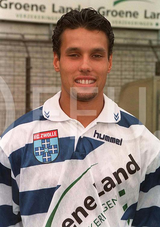 FC ZWOLLE: Bjorn Raven..Foto frank uijlenbroek©1996nvm