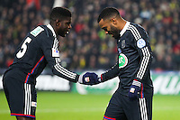 Alexandre LACAZETTE / Arnold MVUEMBA  - 20.01.2015 - Nantes / Lyon  - Coupe de France 2014/2015<br /> Photo : Vincent Michel / Icon Sport