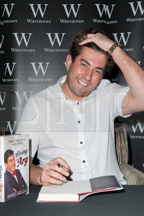 (c) Licensed to London News Pictures. 30/08/2014 London, UK. FILE PICTURES.  The Metropolitan Police are concerned for The Only Way Is Essex star, James Argent who has not been seen since the early hours of Friday morning. Photo credit Simon Ford/LNP