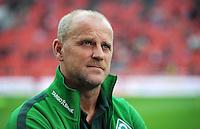 FUSSBALL   1. BUNDESLIGA   SAISON 2011/2012    2. SPIELTAG Bayer 04 Leverkusen - SV Werder Bremen              14.08.2011 Trainer Thomas SCHAAF (SV Werder Bremen)