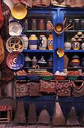 Pottery stall, Essaouira, Morocco