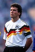 LOTHAR MATTHAUS WEST GERMANY 1988 WEST GERMANY V SPAIN (2-0)  17/06/88 EUROPEAN CHAMPIONSHIPS 1988