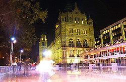 The opening of the Natural History Museum's ice rink, Cromwell Road, London on 14th November 2006.<br />