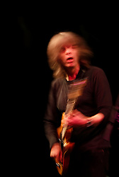 American jazz-fusion guitarist Mike Stern performs on the opening night of the 20th edition of the Malta Jazz Festival in Valletta, July 15, 2010.  .REUTERS/Darrin Zammit Lupi (MALTA)