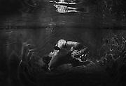 Andrea Northey underwater pregnant