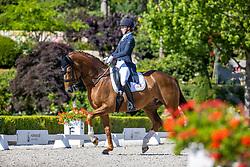 HORSTMANN Rebecca (GER), Friend of mine 2<br /> Dressurprüfung Kl. S mit Piaff und Passage<br /> Piaff-Förderpreis-Vorbereitungsprüfung<br /> Preis der Liselotte Schindling-Stiftung<br /> Kronberg - Schafhof Dressurfestival 2020<br /> 27. Juni 2020<br /> © www.sportfotos-lafrentz.de/Stefan Lafrentz