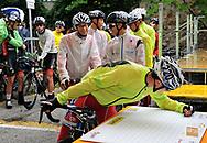 Ciclismo giovanile, 50 ° Coppa D'oro 1. Marco Codemo 2. Giosuè Crescioli 3. Giovanni Vito , Borgo Valsugana 10 settembre 2017 © foto Remo Mosna