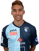 GUITANE Rafik during photocall of Le Havre AC for new season of Ligue 2 on September 29th 2016<br /> Photo : Lelaidier / Hac / Icon Sport