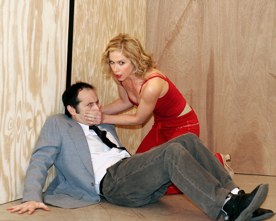 Christina Applegate as.Sweet Charity.Open Press Rehearsal.January 19, 2004.Credit Photo ©Paul Kolnik.NYC 212.362.7778