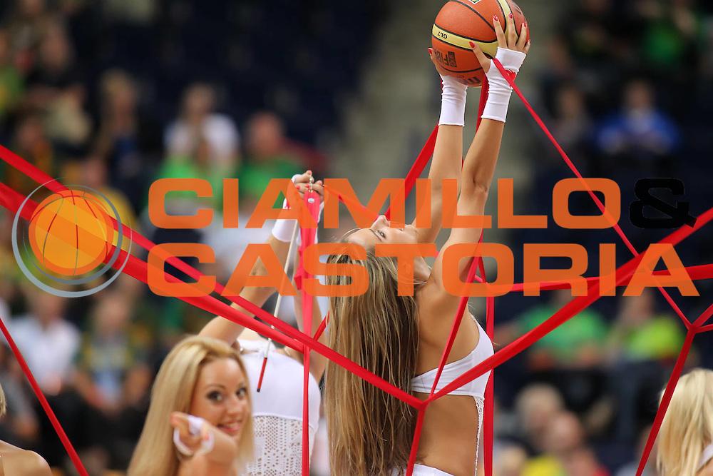DESCRIZIONE : Vilnius Lithuania Lituania Eurobasket Men 2011 Second Round Germania Turchia Germany Turkey<br /> GIOCATORE : cheerleaders<br /> CATEGORIA : cheerleaders<br /> SQUADRA : Germania Turchia Germany Turkey<br /> EVENTO : Eurobasket Men 2011<br /> GARA : Germania Turchia Germany Turkey<br /> DATA : 09/09/2011<br /> SPORT : Pallacanestro <br /> AUTORE : Agenzia Ciamillo-Castoria/ElioCastoria<br /> Galleria : Eurobasket Men 2011<br /> Fotonotizia : Vilnius Lithuania Lituania Eurobasket Men 2011 Second Round Germania Turchia Germany Turkey<br /> Predefinita :