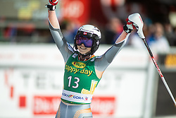 Kristin Lysdahl (NOR) during second run at the Ladies' Slalom at 56th Golden Fox event at Audi FIS Ski World Cup 2019/20, on February 16, 2020 in Podkoren, Kranjska Gora, Slovenia. Photo by Matic Ritonja / Sportida
