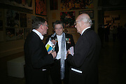 Malcolm Rogers,  Norman Rosenthall and Prof. Sir John Boardman . Royal Academy Annual dinner to celebrate the opening of the Summer exhibition. Royal Academy. Piccadilly. London. 1 June 2005.  ONE TIME USE ONLY - DO NOT ARCHIVE  © Copyright Photograph by Dafydd Jones 66 Stockwell Park Rd. London SW9 0DA Tel 020 7733 0108 www.dafjones.com