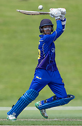 Otago Volts' Michael Rippon batting against Canterbury in the Ford Trophy one-day domestic cricket match at the University of Otago Oval, Dunedin, New Zealand, Saturday, January 27, 2018. Credit:SNPA / Adam Binns ** NO ARCHIVING**