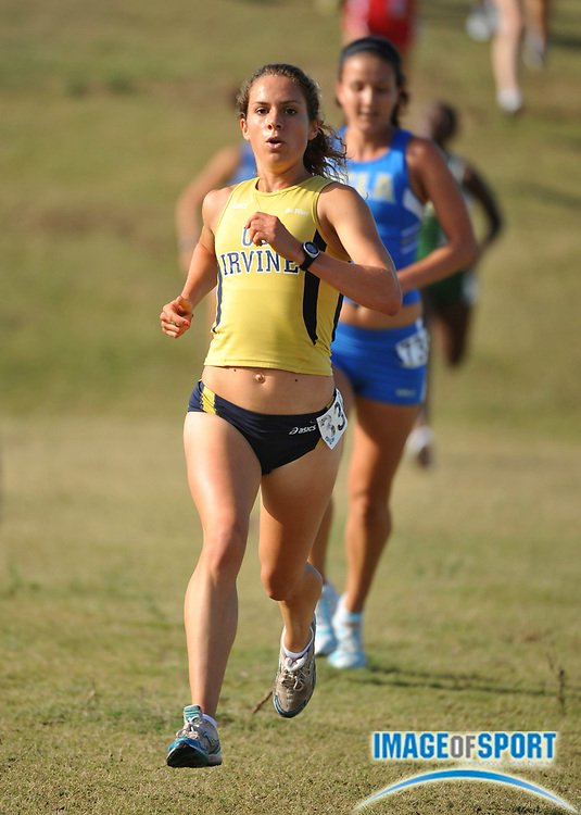 "Sep 6, 2008; Irvine, CA, USA; Samantha Constantini of UC Irvine was sixth in the womens ""A"" race in 17:53 in the UC Irvine Invitational at the Anteater Recreation Center Fields."