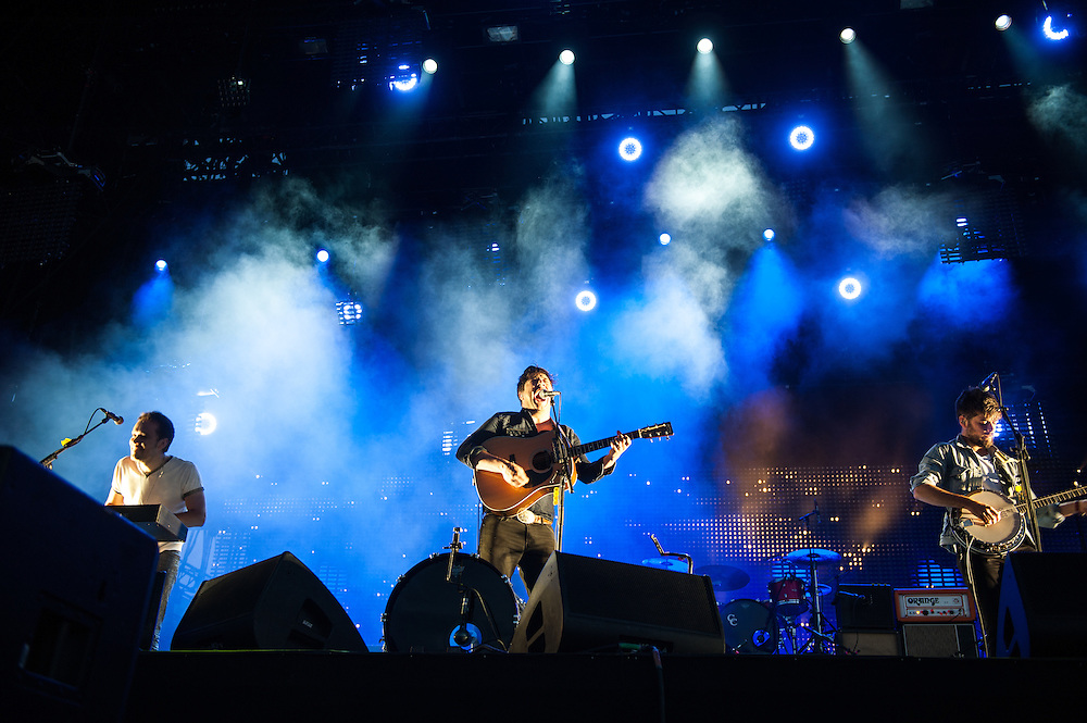 Mumford & Sons at Lollapalooza