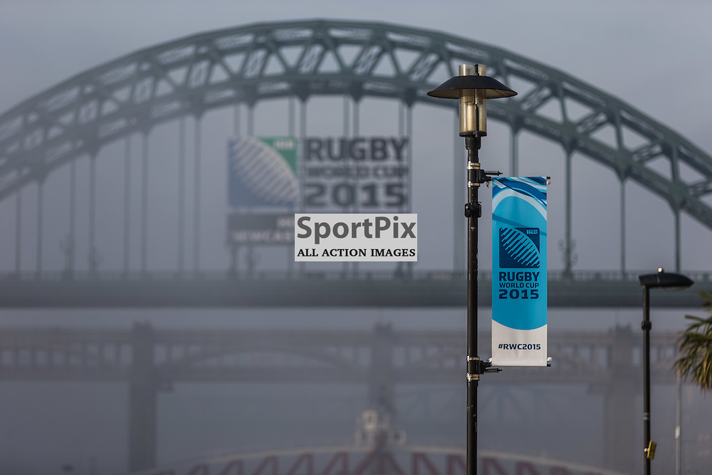 The morning of the Rugby World Cup match between Scotland and Samoa (c) ROSS EAGLESHAM   Sportpix.co.uk