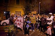 Roma 9 Ottobre  2014<br /> Manifestazione degli abitanti del  Pigneto,  contro spaccio e degrado nel quartiere.<br /> Rome October 9, 2014<br /> Demonstration of the inhabitants of Pigneto against drug dealing and degradation in the neighborhood.