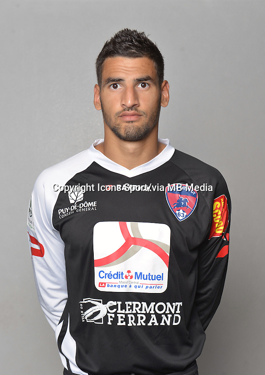 Mehdi JEANNIN - 18.09.2013 - Photo Officielle - Clermont -<br /> Photo : Philippe Le Brech / Icon Sport
